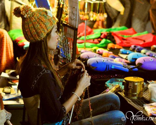 Тайланд, Чианг Май, на воскресном рынке