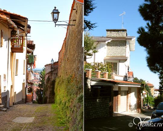 На улицах Пинероло, Италия