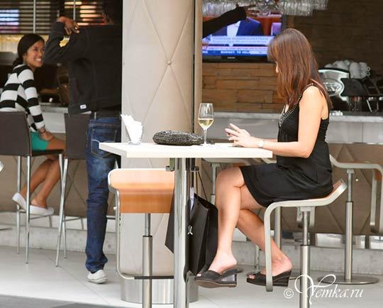 В кафе на набережной Марина Бэй Сэндс, Сингапур
