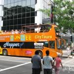 Экскурсионный автобус по Сингапуру