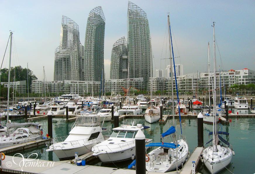 Кеппель-бей - район для богатых сингапурцев