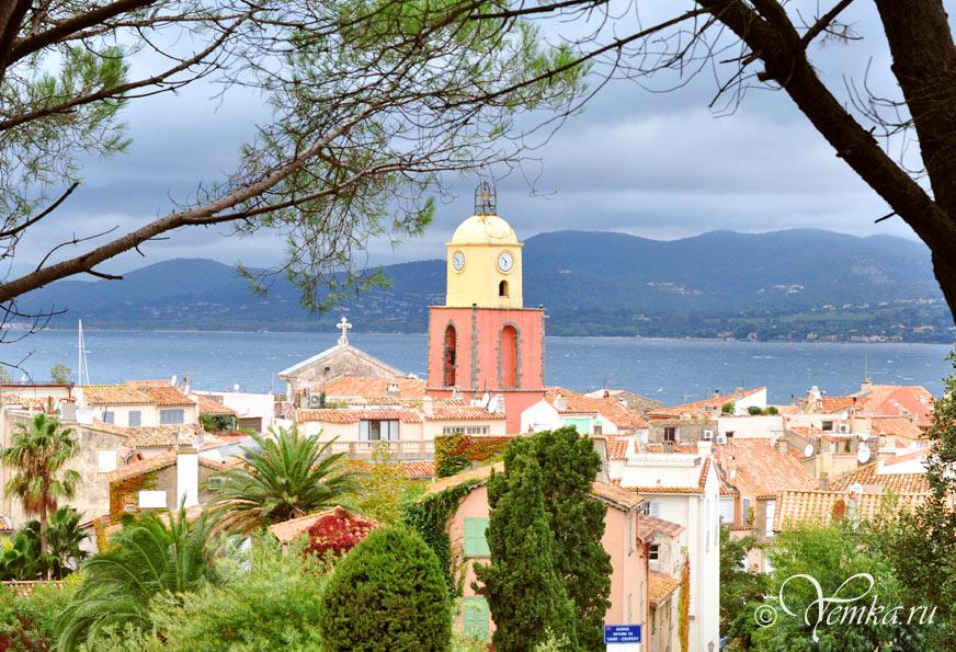 Сан-Тропе – деревушка во Франции для богатых