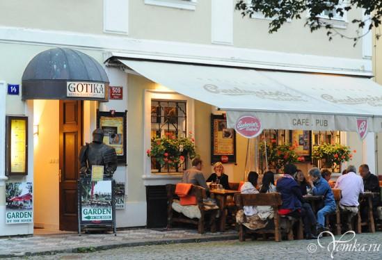 Кафе, Мала Страна, Прага