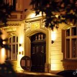 В центре Праги ночью