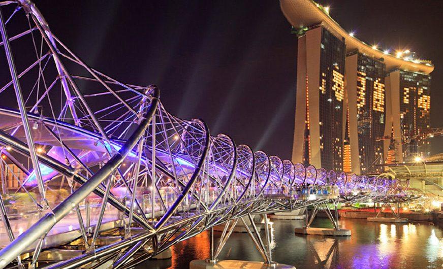 Сингапур: гуляем по Марина Бэй Сэндс. Фото Сингапура